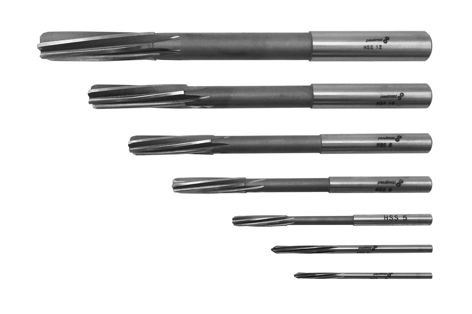 PAULIMOT Hand-Reibahle HSS Passung H7 9,0 mm
