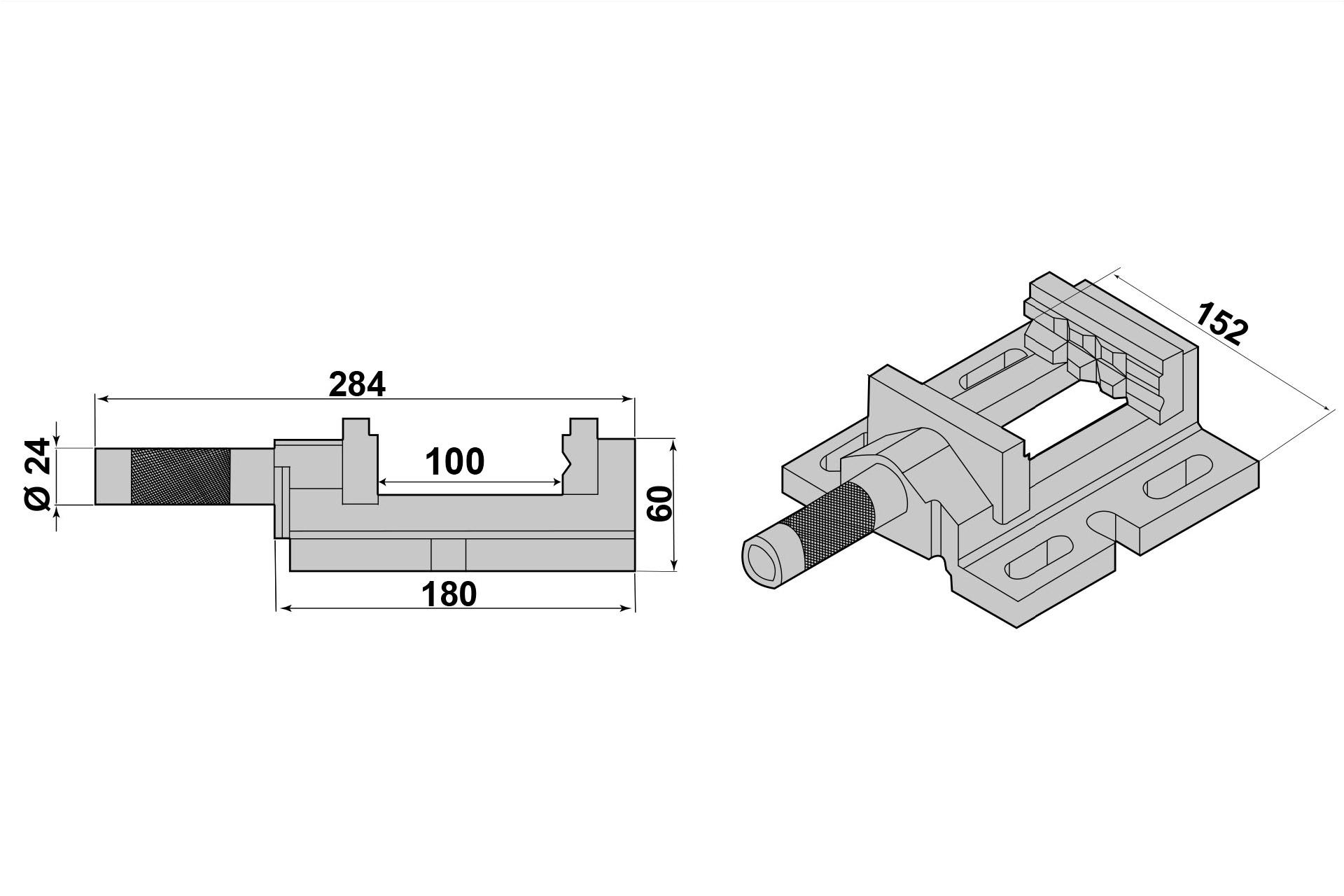 PAULIMOT Schraubstock-Schutzbacken 125 mm Typ F