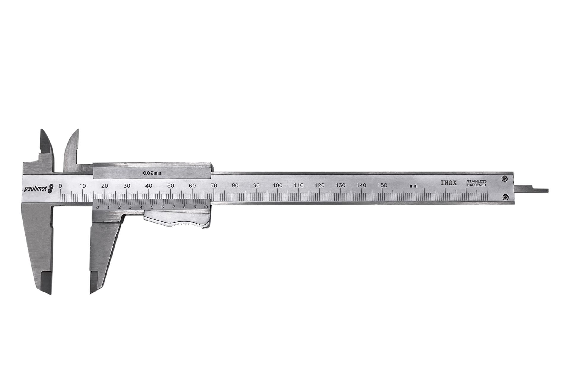 PAULIMOT Messschieber digital 0-150 mm rostfrei INOX IP54