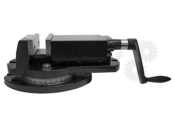 Maschinen-Schraubstock 100 mm Backenbreite 360° drehbar