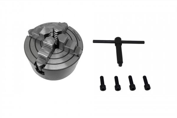 Schnäppchen: Vierbackenfutter 100 mm einzeln verstellbare Backen