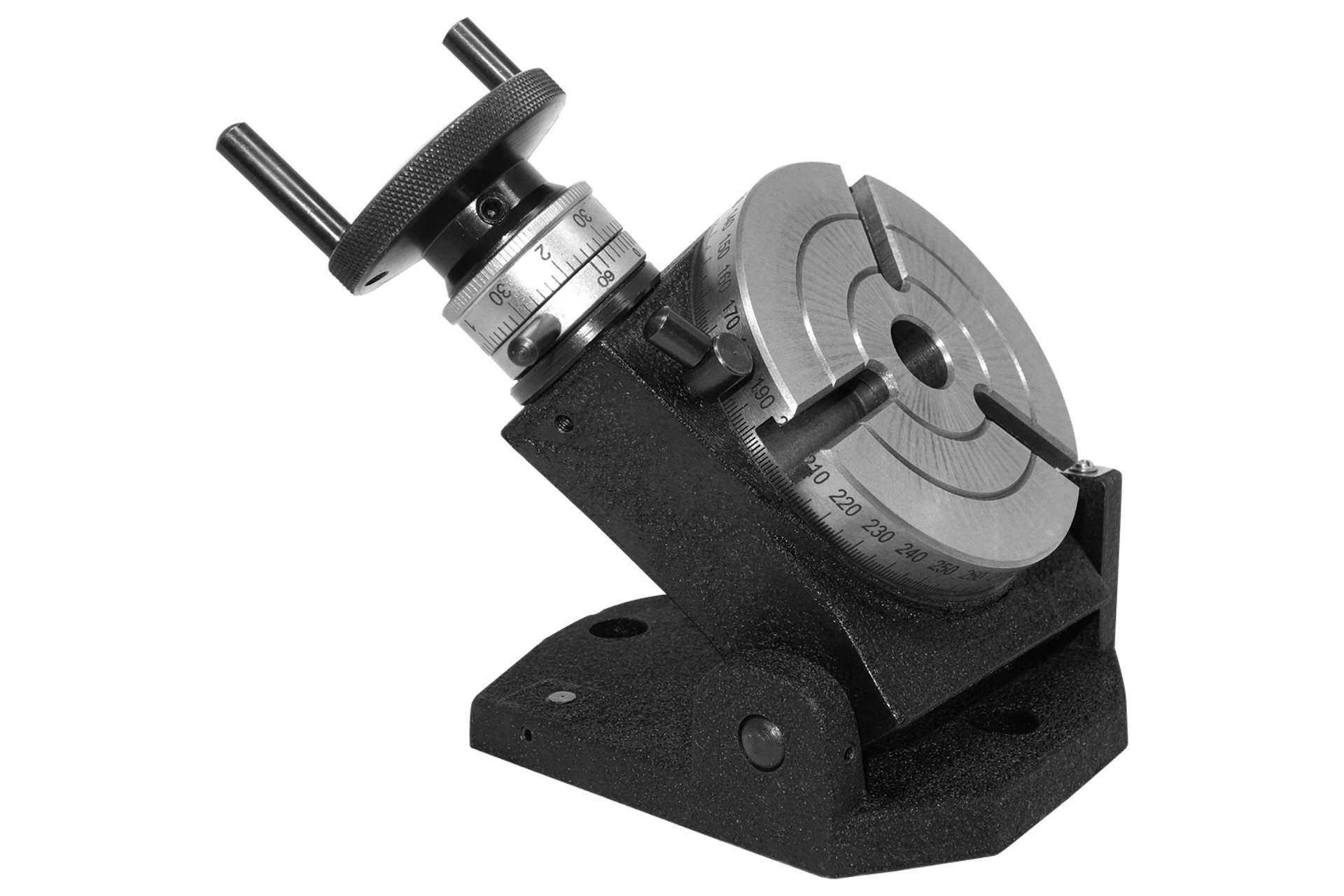 Montageflansch für Drehfutter ˜ 80 mm zu Teilapparat ˜ 100 mm