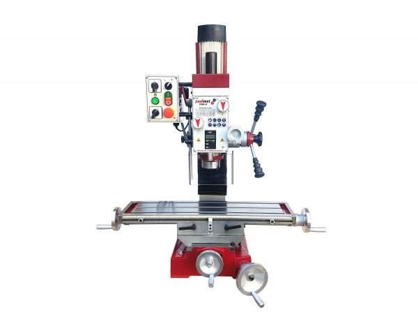 Bohr-/Fräsmaschine F400-G mit Ölbad-Schaltgetriebe und 2-stufigem Drehstrommotor