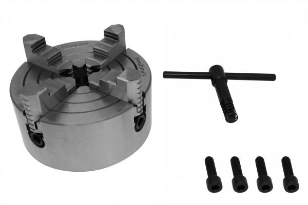 Vierbackenfutter 125 mm einzeln verstellbare Backen