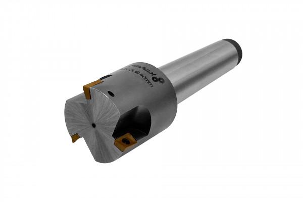 paulimot 13008 Fräskopf 40 mm mit Schneidplatten MK3 M12_1