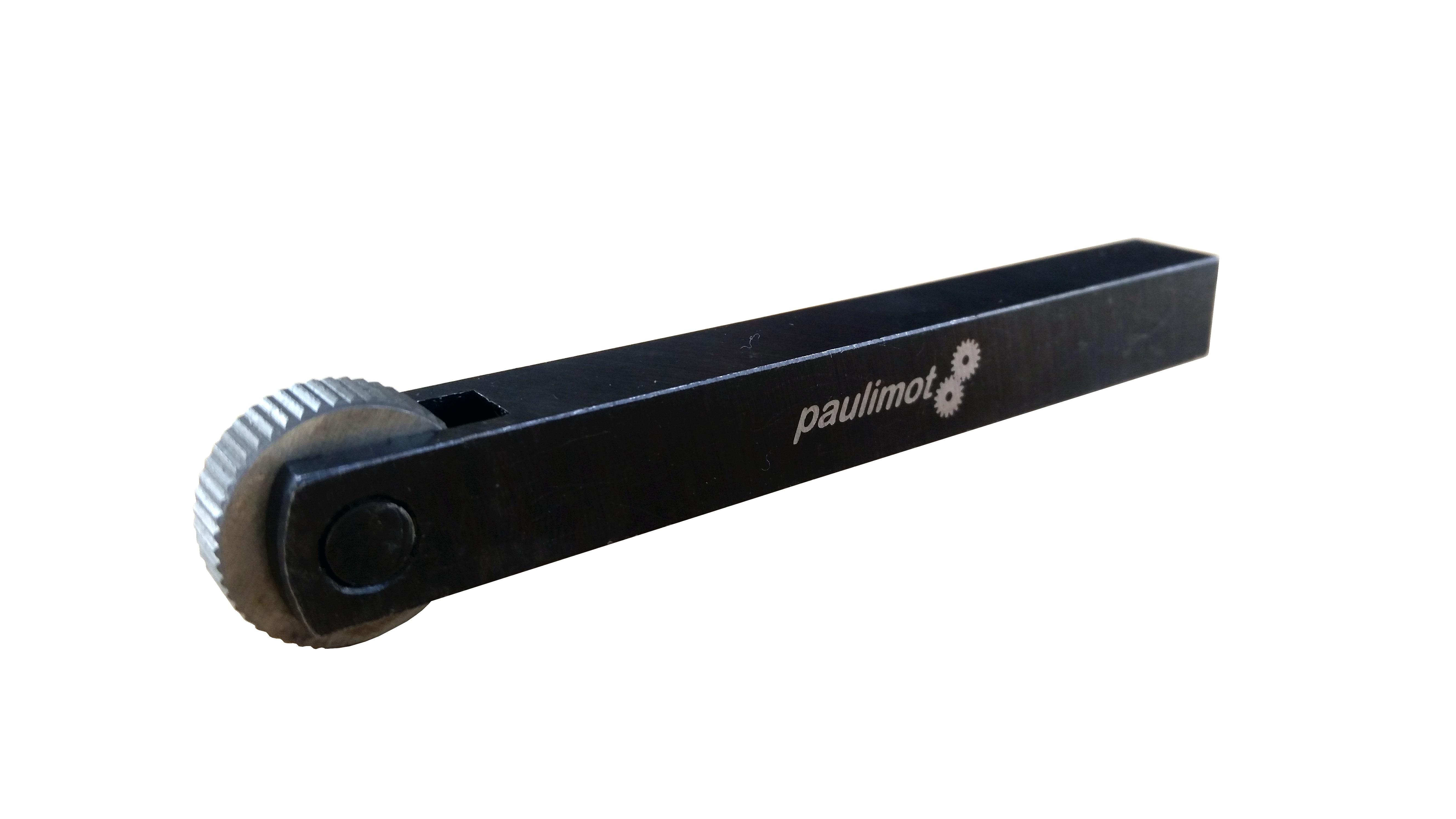 PAULIMOT Rändelzange Rändelwerkzeug mit 2 HSS-Rädern