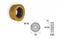 PAULIMOT Drehmei/ßel mit Wendeplatte 20/x/20/mm SRGCR2020K10