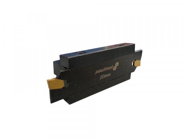 Schnäppchen: Abstechstahl-Halter mit Schneidplatten 2,4 mm