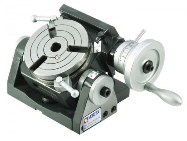 Schnäppchen: Teilapparat Rundtisch Ø 110 mm schwenkbar VERTEX VU-100