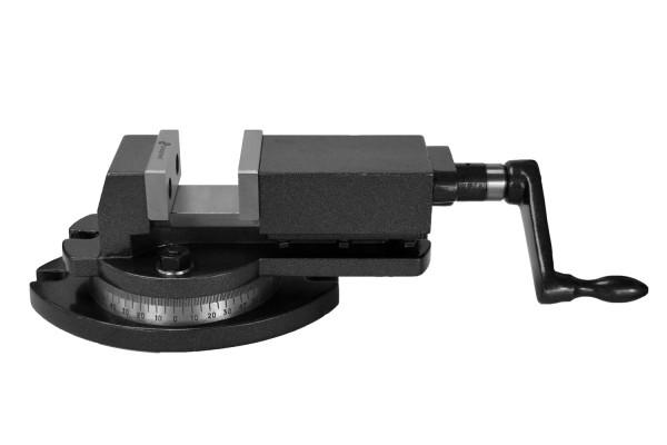 Maschinen-Schraubstock 75 mm Backenbreite 360° drehbar